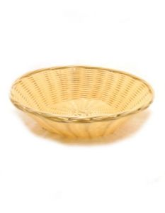 Poppadom Basket [Round] [Serve Poppadoms, Naan & breads] | Buy Online at The Asian Cookshop.